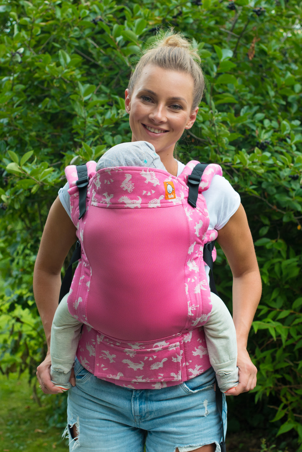 Full Coast Standard Wrap Conversion Carrier - Dino Smile - Baby Tula