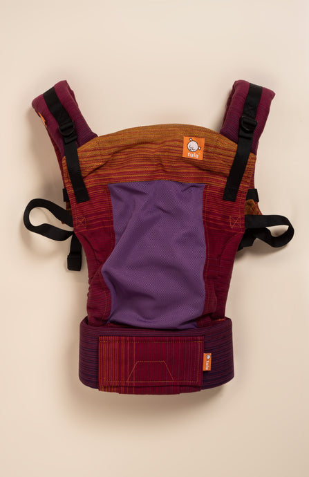 Coast Girasol Night Fall Rojo Sangriento Weft - Tula Signature Baby Carrier