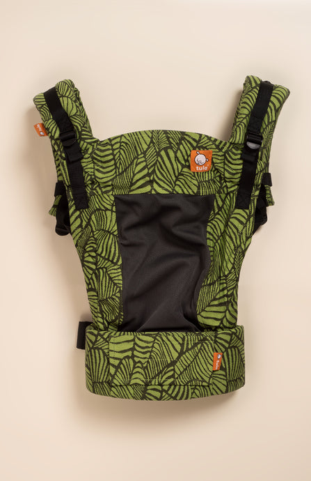 Coast Tula Woven Key West Greenery - Tula Signature Baby Carrier