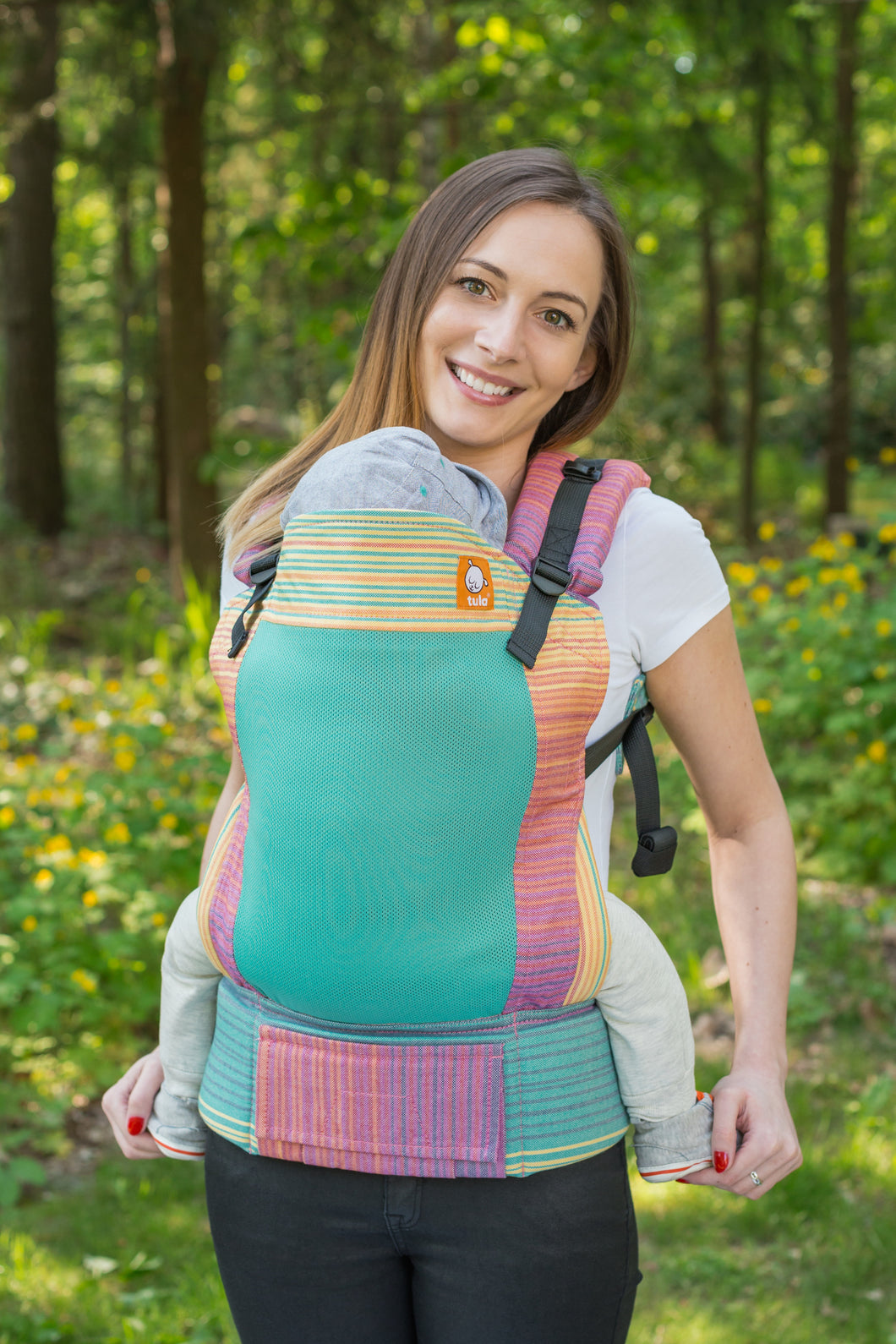 Full Coast Toddler Wrap Conversion Carrier - Iris - Baby Tula