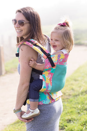 Coast Paint Palette - Tula Free-to-Grow Baby Carrier - Baby Tula