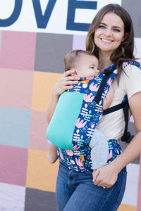 Coast Twilight Tulip - Tula Toddler Carrier - Baby Tula
