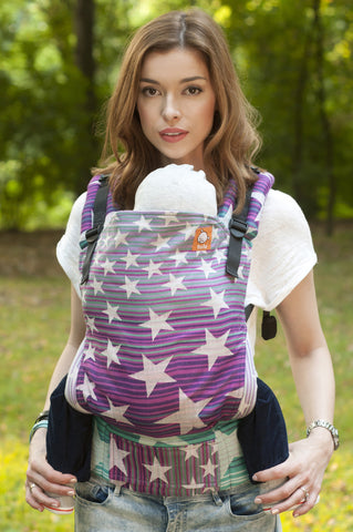 (Standard Size) Full Wrap Conversion Tula Baby Carrier - Constellation Selene - Baby Tula