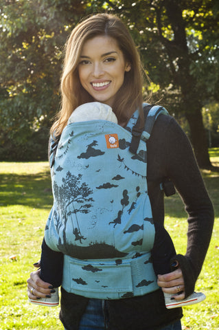 (Standard Size) Full Wrap Conversion Tula Baby Carrier - Day Dreamer Moon Swing - Baby Tula