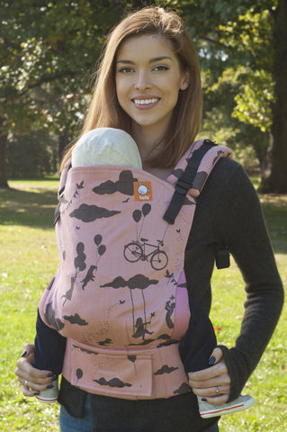 (Standard Size) Full Wrap Conversion Tula Baby Carrier - Day Dreamer Sun Sway - Baby Tula