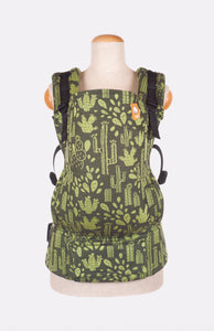 Full Standard Wrap Conversion Carrier - Tula Desert Greenery - Baby Tula