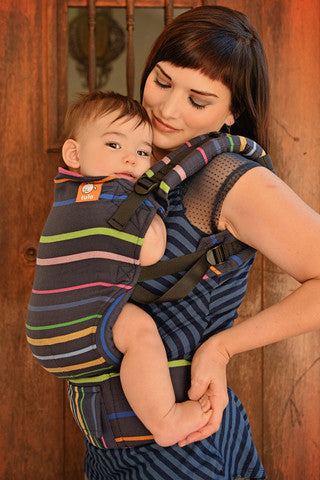 (Toddler Size) Half Wrap Conversion Tula -Didymos Lisa - Baby Tula