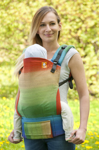 Half Toddler WC Carrier - Lisca Rainbow - Baby Tula