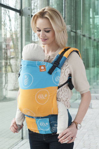 Half Toddler Wrap Conversion Carrier - Didymos Tragenetzwerk - Baby Tula