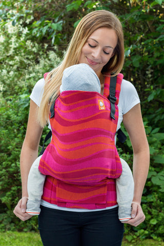 Half Standard WC Carrier - Waves Garnet - Baby Tula