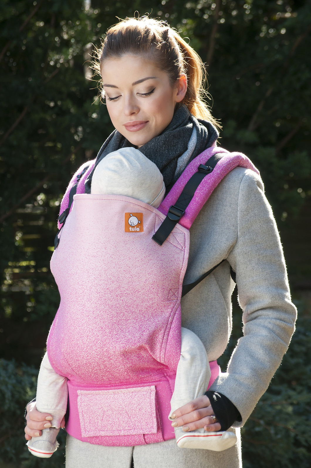 Full Toddler WC Carrier - Emulsion Alstroemeria - Baby Tula