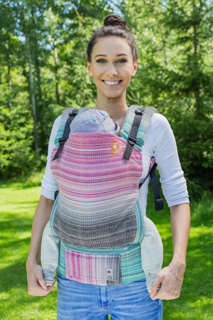 Full Standard Wrap Conversion Carrier - Utopia Natural Weft - Baby Tula