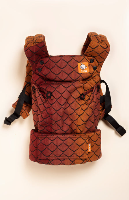 DBG Baby Dragonscale Smaug - Tula Signature Baby Carrier