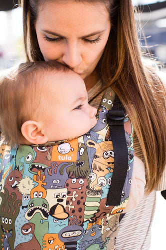 Eye Spy - Tula Free-to-Grow Baby Carrier - Baby Tula