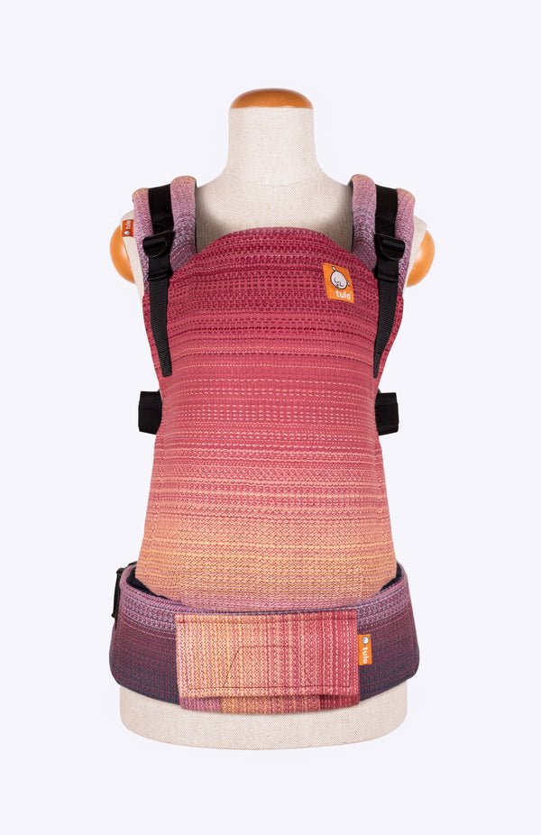 Handwoven Melodies Rescue v2 (brique weft) - Tula Signature Baby Carrier