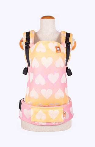 Tula Full Free-to-Grow Wrap Conversion - Tula Love Peach Sorbet