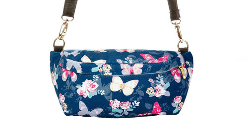 Flies With Butterflies - Tula Hip Pouch