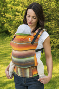 Half Toddler WC Carrier - Chichi Yellow Weft - Baby Tula