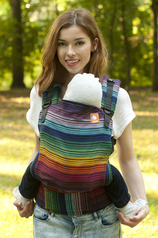 Full Standard WC Carrier - Colorful Rainbow Cuervo 1 - Baby Tula