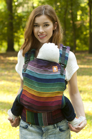 Full Toddler WC Carrier - Colorful Rainbow Cuervo 1 - Baby Tula