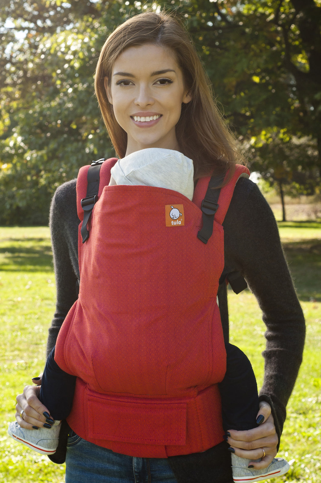Half Standard WC Carrier - Coral Diamond - Baby Tula