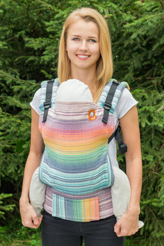 Half Toddler WC Carrier - Dessa's Dream Crema de Nube Weft - Baby Tula