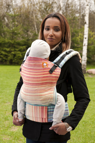 Half Standard WC Carrier - Luscious Rainbow Creme - Baby Tula
