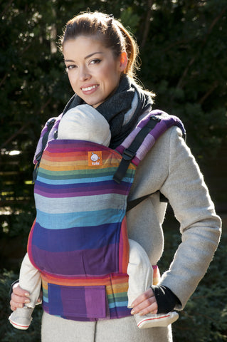Full Toddler WC Carrier - Mystic Rainbow Purpura Romana - Baby Tula
