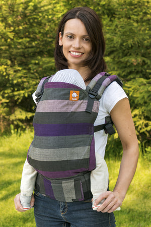 Half Toddler WC Carrier - Nisus Purpura Romana - Baby Tula