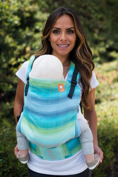 Half Toddler Wrap Conversion Carrier - Girasol Primavera - Baby Tula
