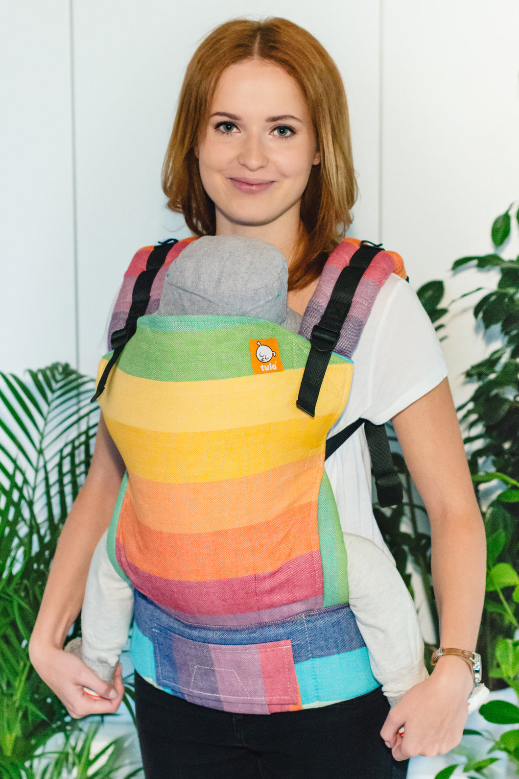 Full Standard WC Carrier - Rainbowtopia Crema de Nube - Baby Tula