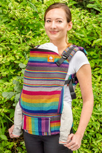 Half Standard WC Carrier - Twilight Cuervo Weft - Baby Tula