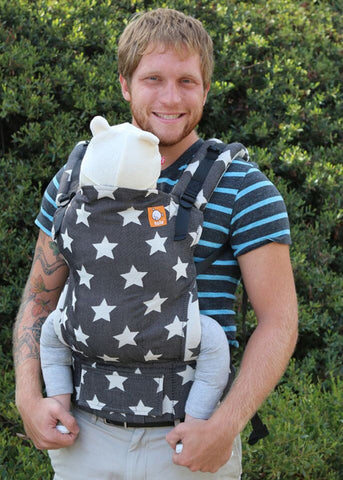 (Standard Size) Full Wrap Conversion Tula Baby Carrier - Tula Glow Eclipse 1 - Baby Tula