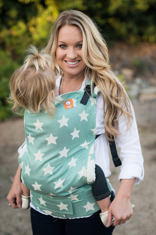 (Toddler Size) Full Wrap Conversion Tula - Tula Glow Nebula - Baby Tula
