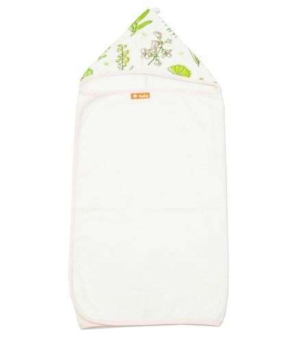 Greenery - Tula Hooded Towel - Baby Tula
