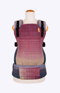 Handwoven Melodies Rescue v2 (blue weft) - Tula Signature Baby Carrier