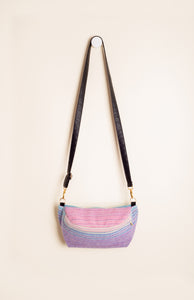 Apple Blossom Wovens + ChiciBeanz Handwoven Dreamer (natural weft/twill weave) - Tula Signature Hip Pouch