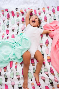 Triple Scoop - Tula Baby Blanket Set - Baby Tula