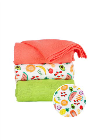 Juicy  - Tula Baby Blanket Set
