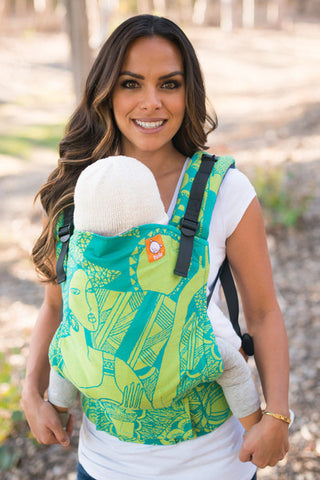 (Standard Size) Half Wrap Conversion Tula Baby Carrier - KoKaDi Elyas Mother - Baby Tula