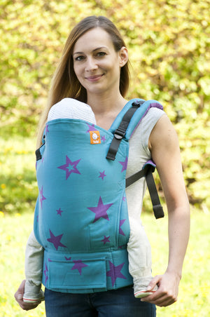 Half Standard WC Carrier - Labradorit Stars - Baby Tula