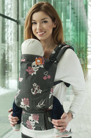 Half Toddler WC Carrier - Oldschool Femme - Baby Tula