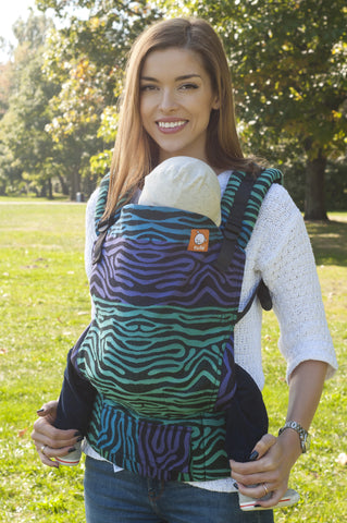 Half Toddler WC Carrier - Zebra Seaside - Baby Tula