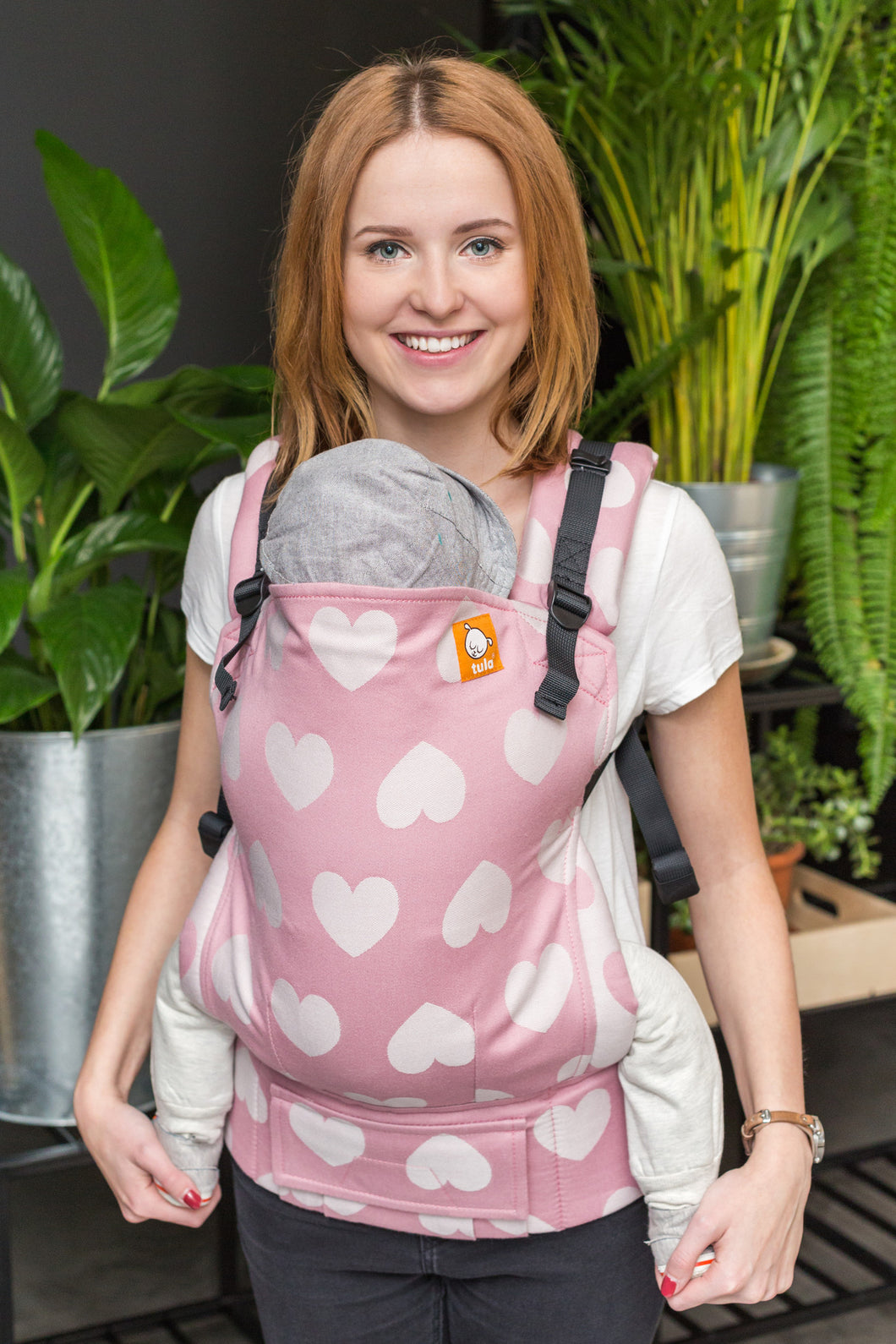 Full Toddler Wrap Conversion Carrier - Love Bubblegum - Baby Tula
