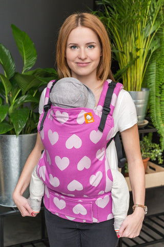 Full Standard Wrap Conversion Carrier - Love Lollipop - Baby Tula