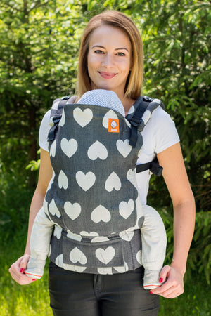 Full Standard WC Carrier - Tula Love Noir 1 - Baby Tula