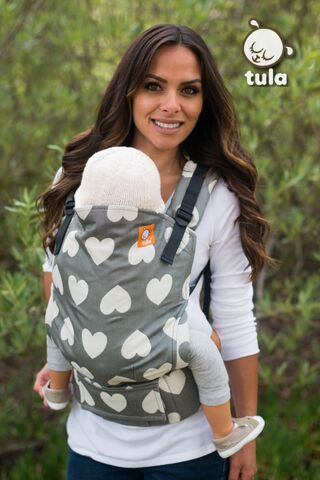 (Standard Size) Full Wrap Conversion Tula Baby Carrier - Tula Love Pierre 1 - Baby Tula