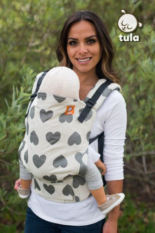 (Standard Size) Full Wrap Conversion Tula Baby Carrier - Tula Love Pierre 2 - Baby Tula