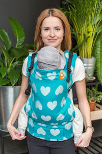 Full Toddler Wrap Conversion Carrier - Love Sprinkle - Baby Tula