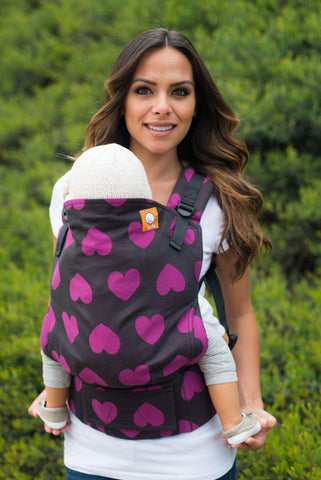 (Standard Size) Full Wrap Conversion Tula Baby Carrier - Tula Love Vogue 1 - Baby Tula